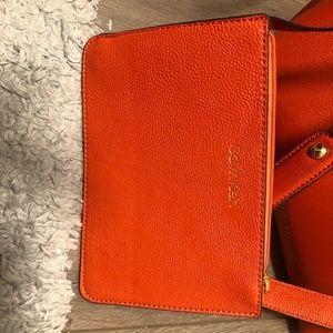 Calvin Klein Bags - Rust orange Calvin Klein bag with pouch